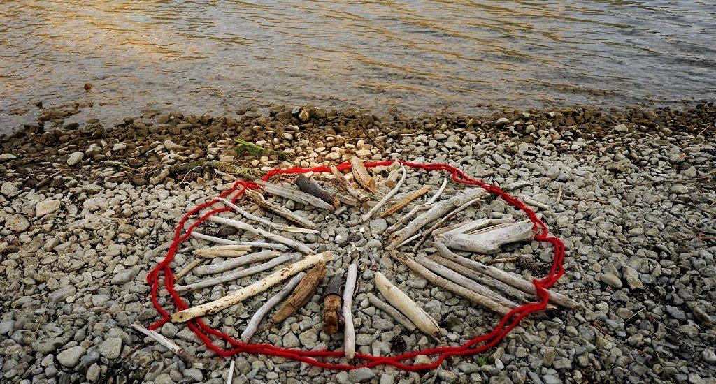 BARBARA AMOS Beach Campfire Ban, 2017, Photograph, Image 15 x 22 inches, 38 x 56 cm
